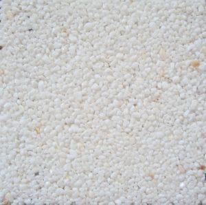 Steinteppich - Extraweiss