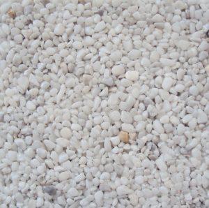 Steinteppich Weiss